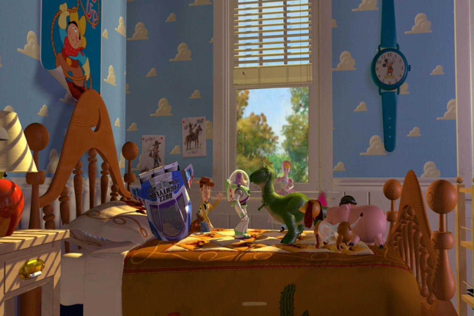 Movie, Toy Story(美國, 1995) / 玩具總動員(台灣) / 玩具总动员(中國) / 反斗奇兵(香港), 電影彩蛋
