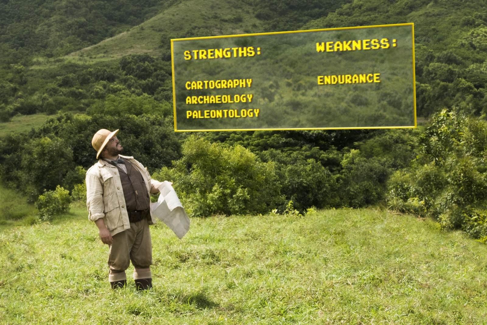 Movie, Jumanji: Welcome to the Jungle(美國, 2017) / 野蠻遊戲:瘋狂叢林(台灣) / 勇敢者游戏:决战丛林(中國) / 逃出魔幻紀:叢林挑機(香港), 電影劇照