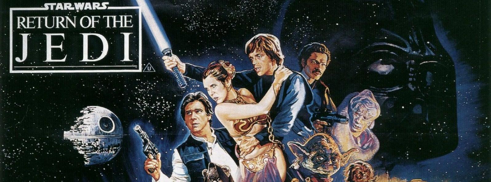 Movie, Star Wars Episode VI: Return of the Jedi(美國, 1983) / 星際大戰六部曲:絕地大反攻(台灣) / 星球大战VI:绝地归来(中國) / 星球大戰:武士復仇(香港), 電影海報, 美國