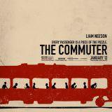 Movie, The Commuter(美國, 2018) / 疾速救援(台灣) / 通勤营救(中國) / 追命列車(香港), 電影海報, 美國