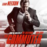 Movie, The Commuter(美國, 2018) / 疾速救援(台灣) / 通勤营救(中國) / 追命列車(香港), 電影海報, 美國, IMAX