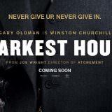 Movie, Darkest Hour(英國, 2017) / 最黑暗的時刻(台灣) / 至暗时刻(中國) / 黑暗對峙(香港), 電影海報, 美國, 橫版