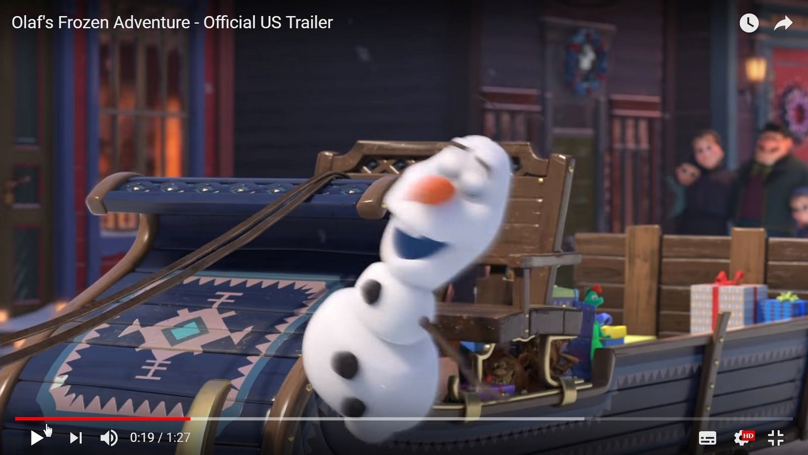 Movie, Olaf's Frozen Adventure(美國, 2017年) / 雪寶的佳節冒險(台灣), 電影劇照, 彩蛋整理分析