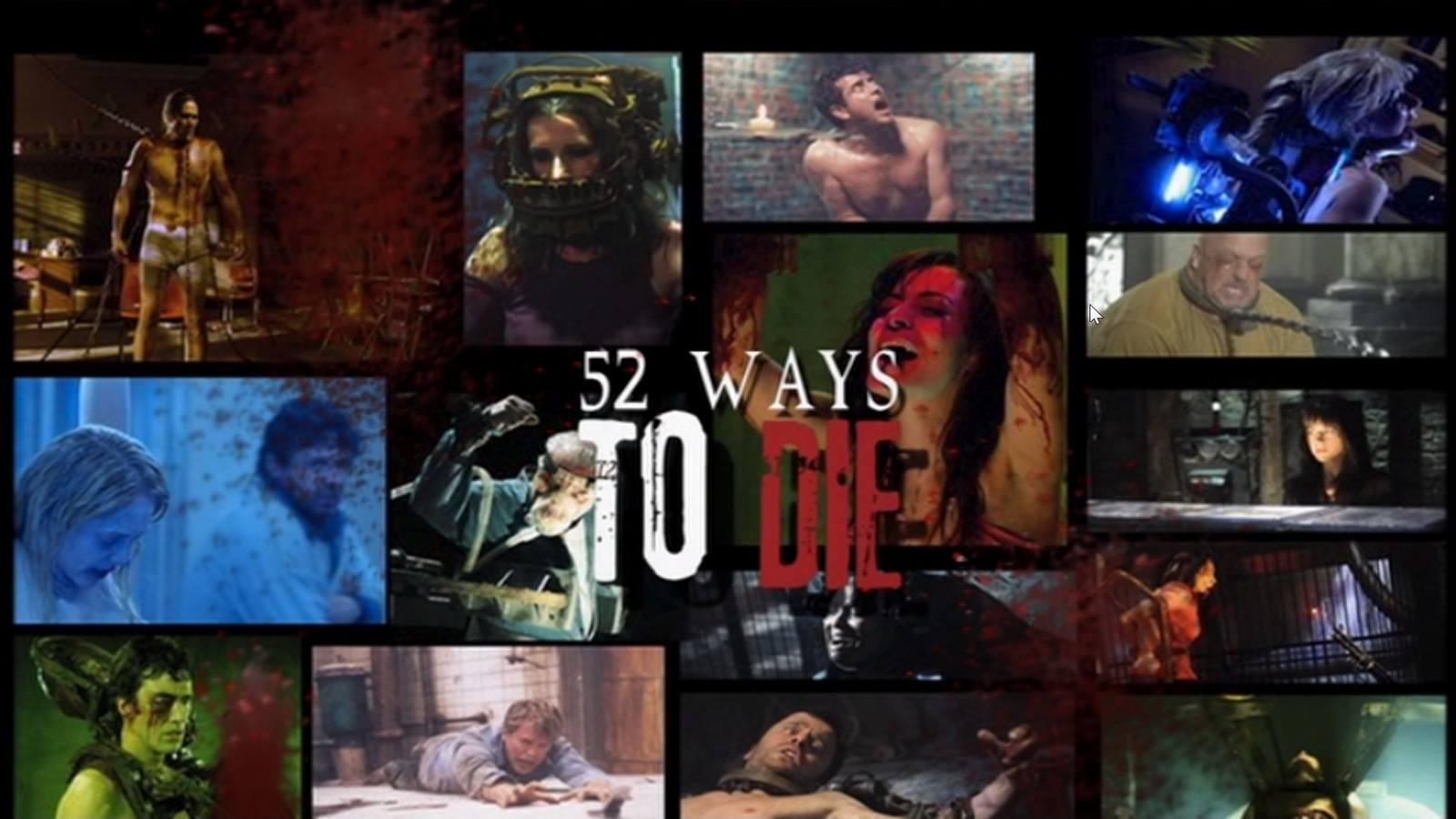 Movie, Saw 3D(美國, 2010年) / 奪魂鋸3D(台灣) / 恐懼鬥室3D:終極審判(香港) / 电锯惊魂7(網路), 電影DVD, 額外收錄, 52 wayS to die