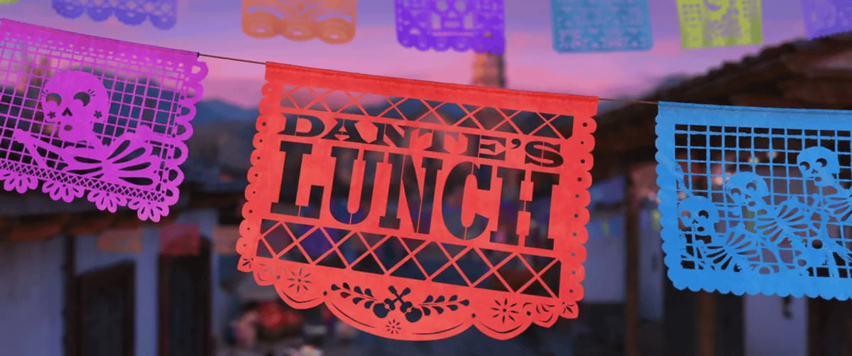 Film, Dante's Lunch(美國, 2017年) / 丹丹的午餐(台灣), 短片劇照