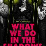 Movie, What We Do In The Shadows(紐西蘭, 2014年) / 吸血鬼家庭屍篇(台灣) / 低俗僵尸玩出征(香港) / 吸血鬼生活(網路), 電影海報, 美國