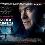 Movie, Bridge of Spies(美國, 2015年) / 間諜橋(台灣) / 间谍之桥(中國) / 換諜者(香港), 電影海報, 英國, 橫版