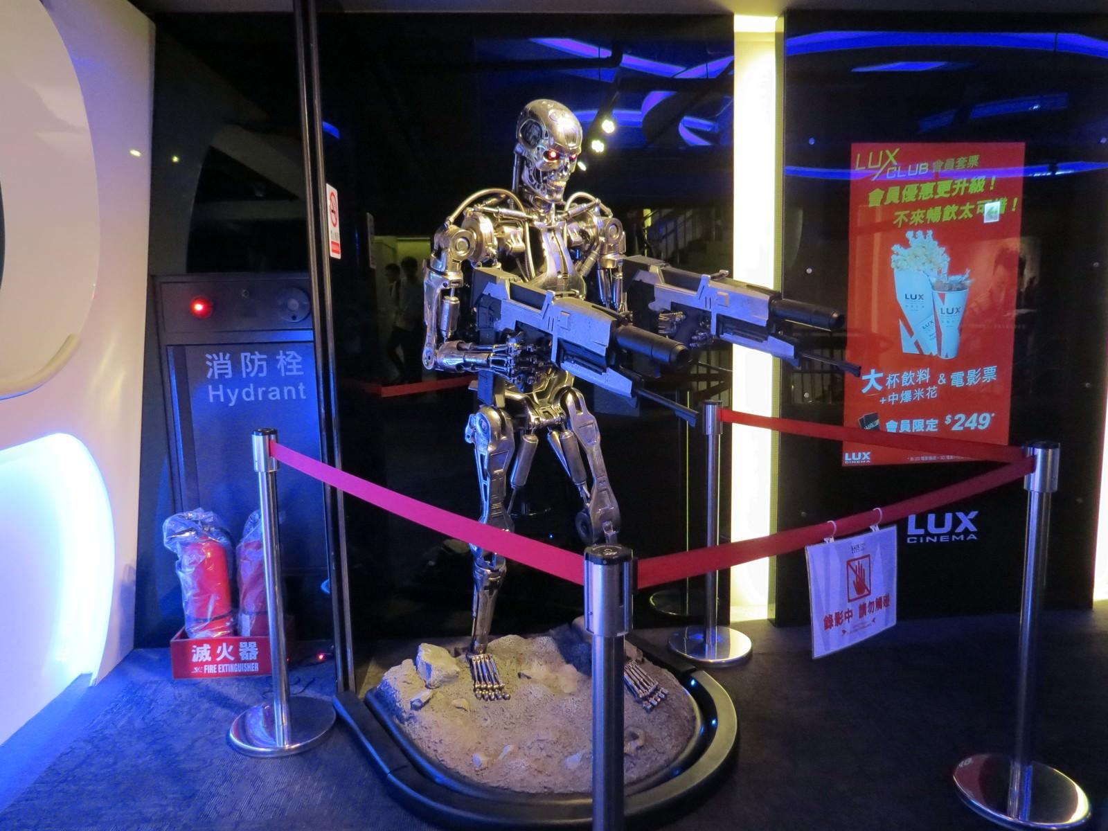 Movie, The Terminator(美國, 1985年) / 魔鬼終結者(台灣) / 未來戰士(香港) / 终结者(網路), 電影宣傳模型