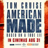 Movie, American Made(美國, 2017年) / 美國製造(台灣) / 巴利薛爾: 飛常任務(香港), 電影海報, 美國, 橫版