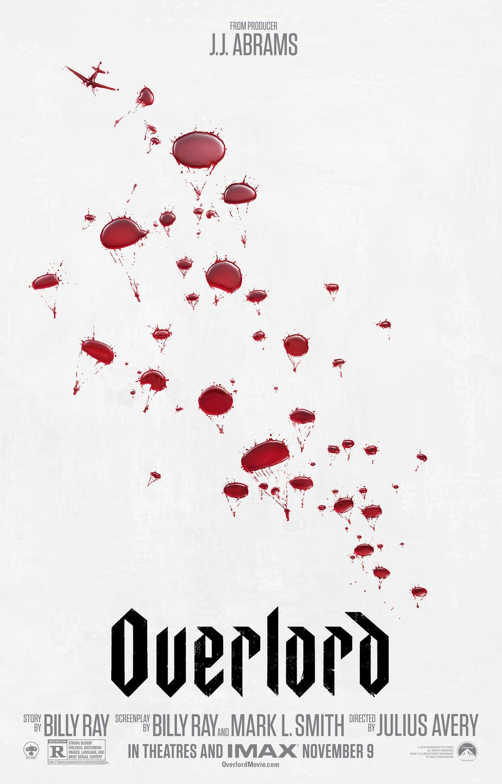 Movie, Overlord(美國, 2018年) / 大君主行動(台灣) / 大君主之役(香港) / 霸主(網路), 電影海報, 美國
