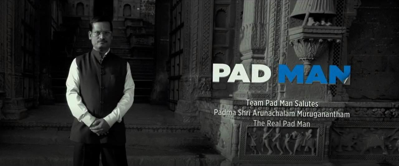Movie, PadMan(印度, 2018年) / 護墊俠(台灣) / 印度合伙人(中國), 片尾劇情
