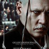 Movie, Fantastic Beasts: The Crimes of Grindelwald(美國, 2018年) / 怪獸與葛林戴華德的罪行(台灣) / 神奇动物:格林德沃之罪(中國) / 怪獸與葛林戴華德之罪(香港), 電影海報, 美國, 角色