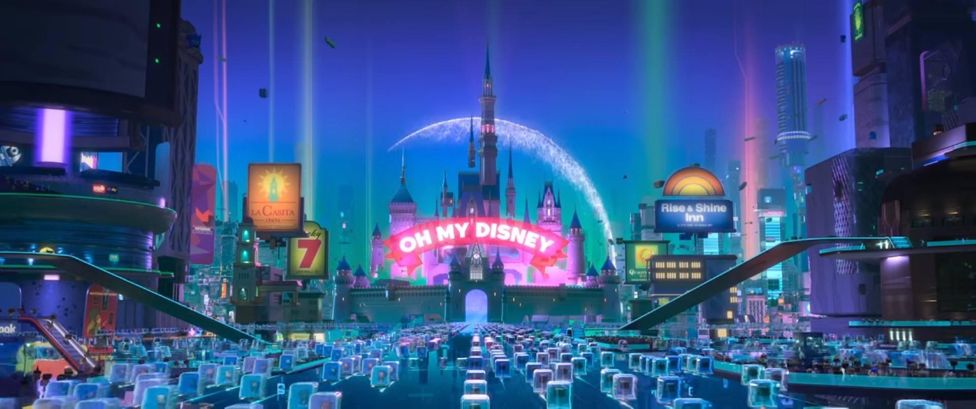 Movie, Ralph Breaks the Internet(美國, 2018年) / 無敵破壞王2:網路大暴走(台灣) / 无敌破坏王2:大闹互联网(中國) / 無敵破壞王2:打爆互聯網(香港), 彩蛋/Easter egg