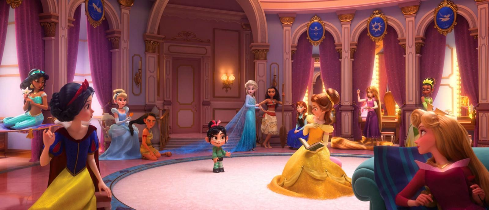 Movie, Ralph Breaks the Internet(美國, 2018年) / 無敵破壞王2:網路大暴走(台灣) / 无敌破坏王2:大闹互联网(中國) / 無敵破壞王2:打爆互聯網(香港), 迪士尼公主/Disney Princess