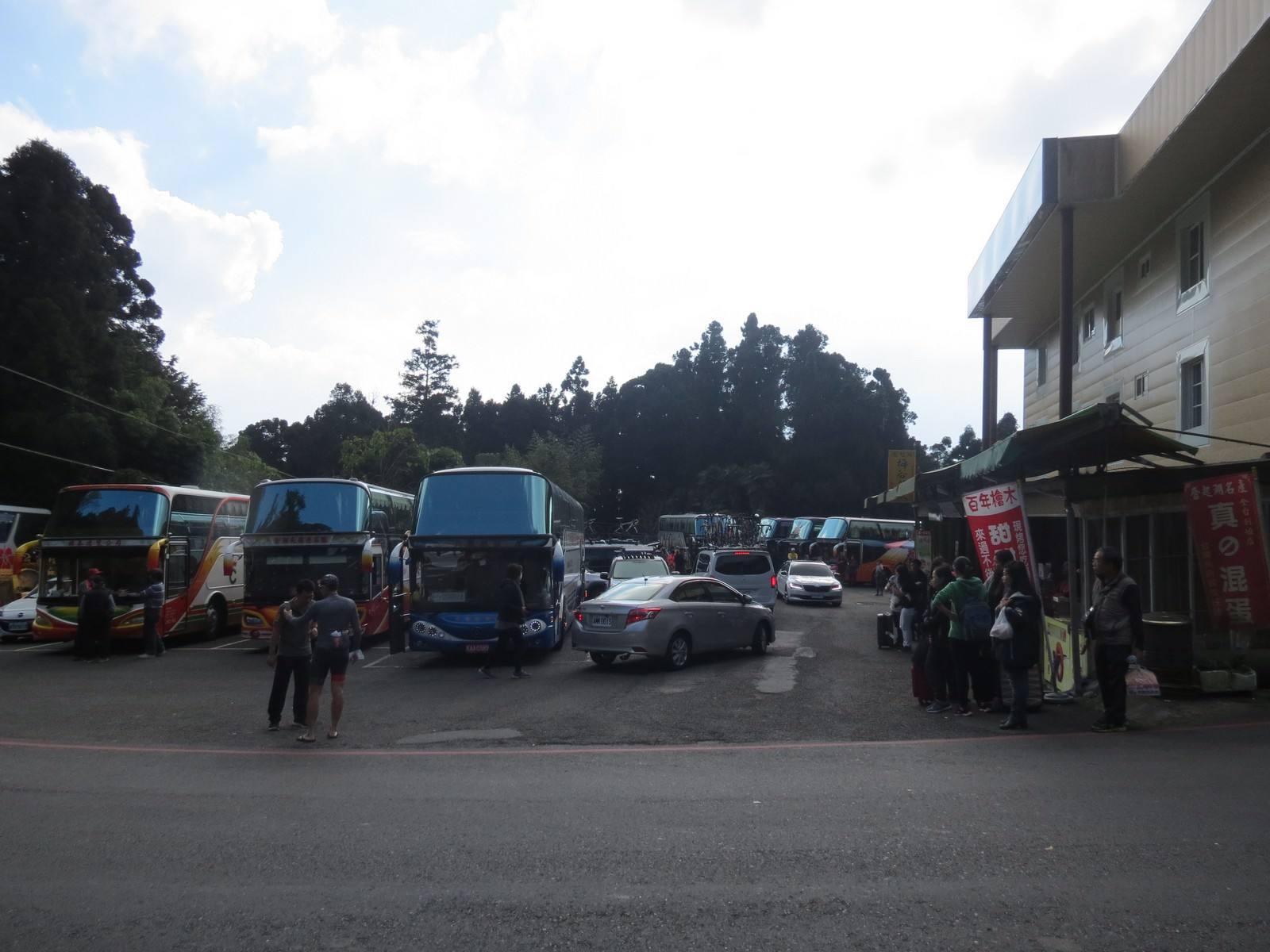 阿里山國家風景區, 大眾運輸交通介紹, 台灣好行奮起湖乘車處
