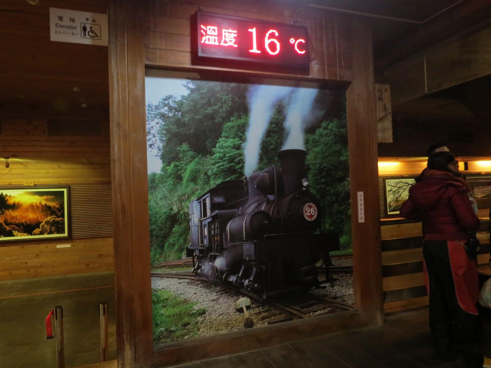 阿里山林業鐵路(森林小火車), 阿里山車站