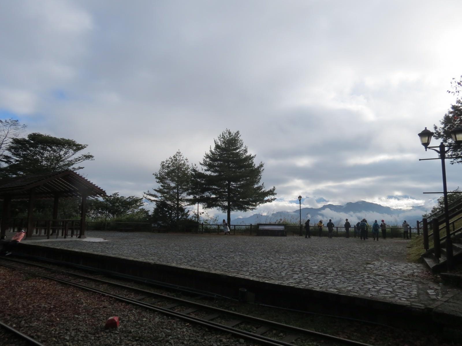 阿里山林業鐵路(森林小火車), 對高岳觀景台