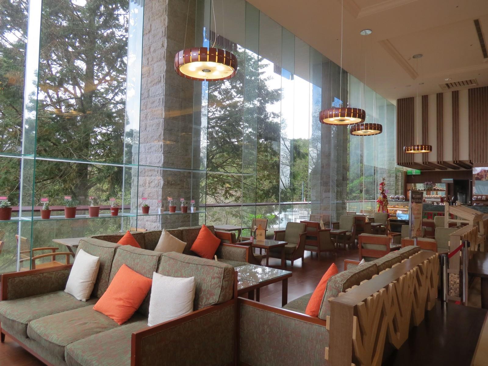 阿里山賓館, 飯店大廳