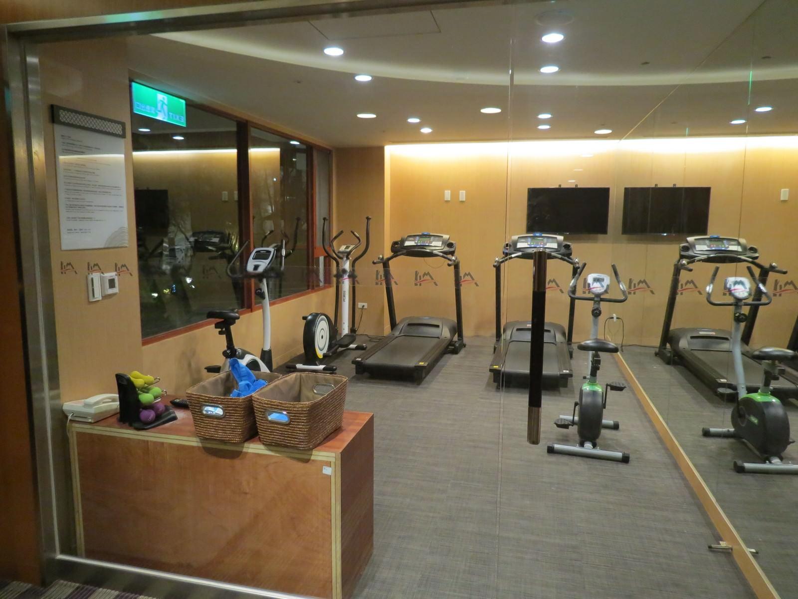 阿里山賓館, 健身房