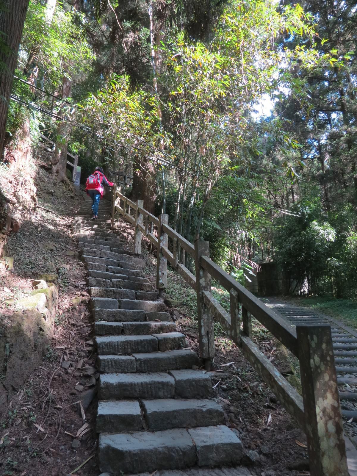 奮起湖神社遺跡, 登山步道