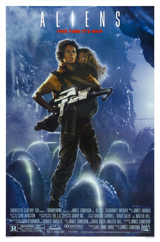 Movie, Aliens(美國, 1986年) / 異形2(台灣), 電影海報, 美國