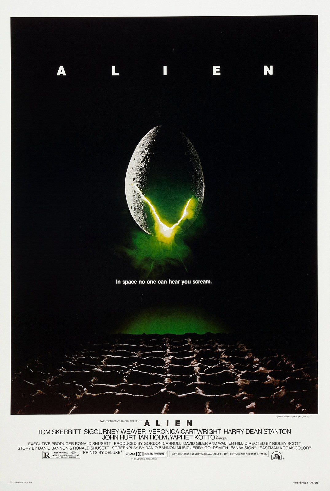 Movie, Alien(美國, 1979年) / 異形(台灣.香港), 電影海報, 美國