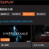 Movie, Unbreakable(美國, 2000年) / 驚心動魄(台灣) / 不死劫(香港), 觀賞平台