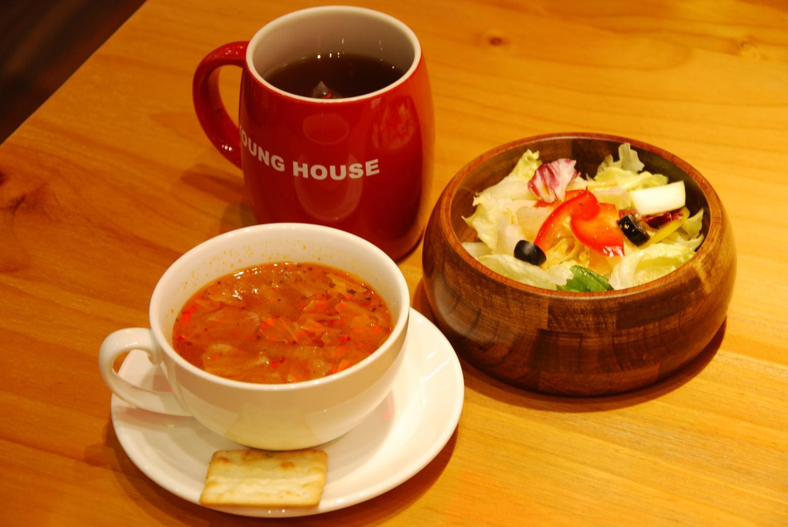 漾漾好時餐廳@南港車站店, 餐點, 附餐