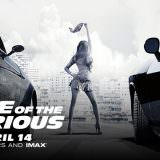 Movie, The Fate of the Furious(美國, 2017年) / 玩命關頭8(台灣) / 速度与激情8(中國) / 狂野時速8(香港), 電影海報, 美國, 橫版