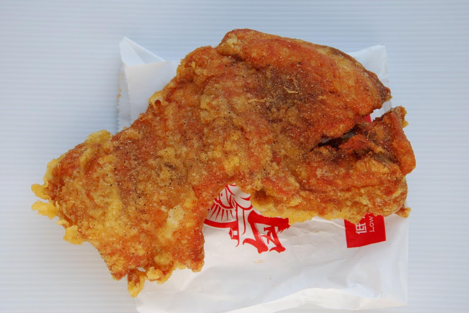 匈奴人雞胸肉專賣, 餐點, 雞排