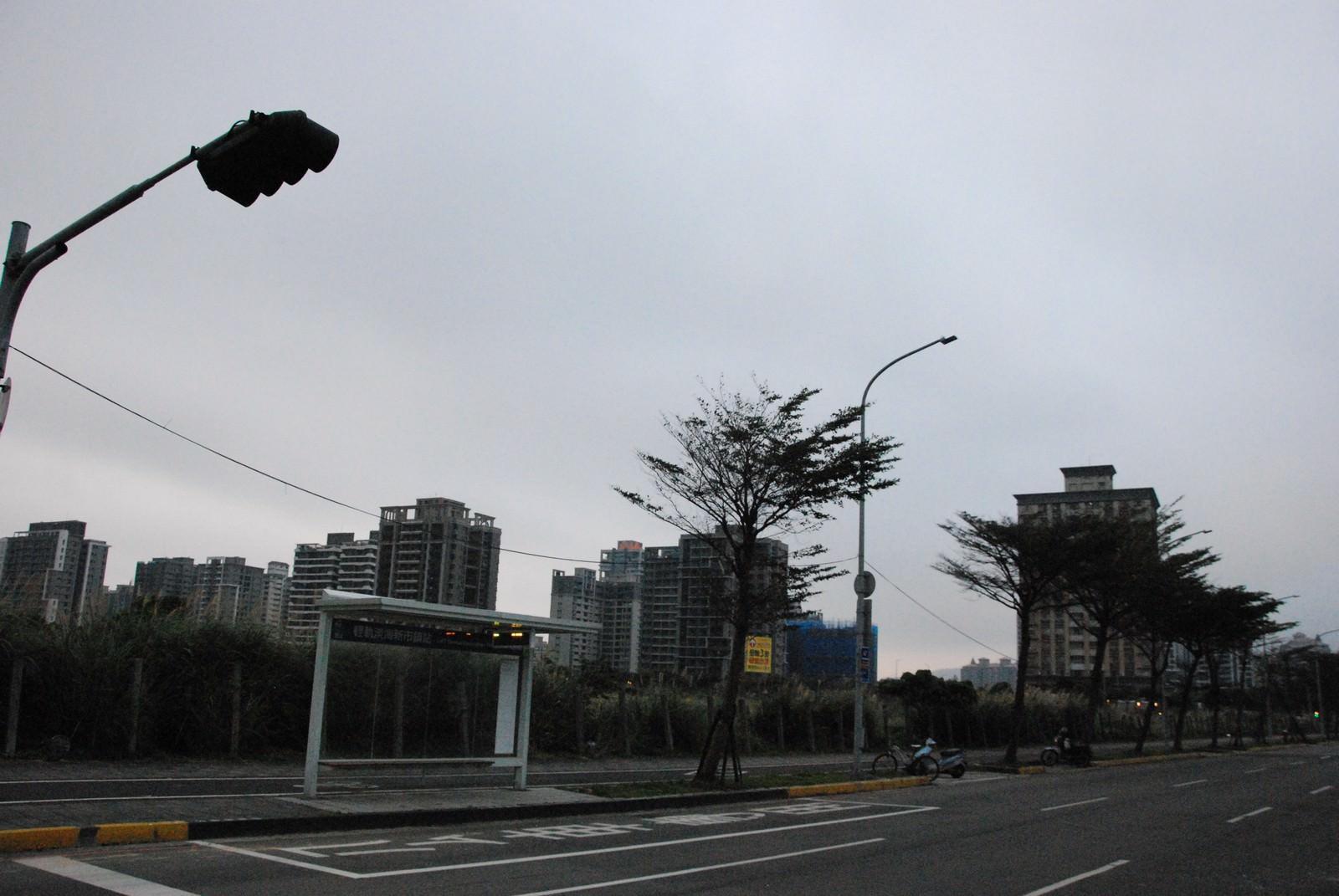 淡海輕軌綠山線, 輕軌淡海新市鎮站, 周邊環境