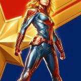 Movie, Captain Marvel(美國, 2019年) / 驚奇隊長(台灣) / 惊奇队长(中國) / Marvel 隊長(香港), 電影海報, 巴西, 動漫展