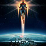 Movie, Captain Marvel(美國, 2019年) / 驚奇隊長(台灣) / 惊奇队长(中國) / Marvel 隊長(香港), 電影海報, 英國