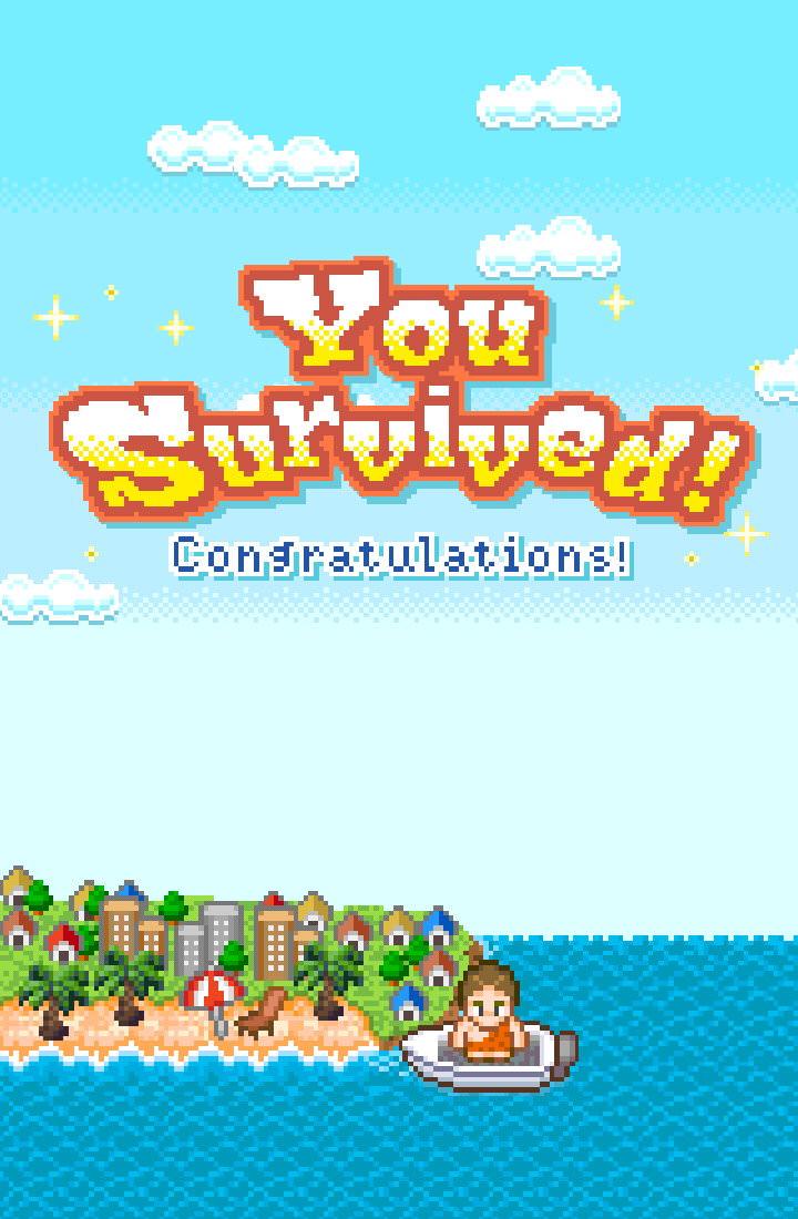 手機遊戲, 無人島大冒險2, 過關畫面