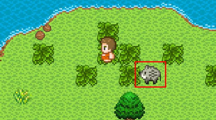 手機遊戲, 無人島大冒險2, 野生動物