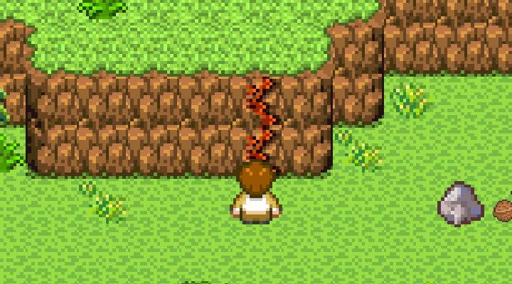 手機遊戲, 無人島大冒險1, 峭壁