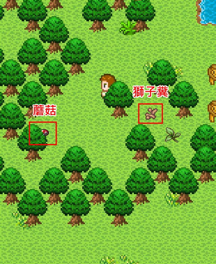 手機遊戲, 無人島大冒險1, 獅子島