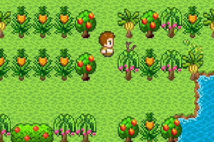 手機遊戲, 無人島大冒險1, 種子