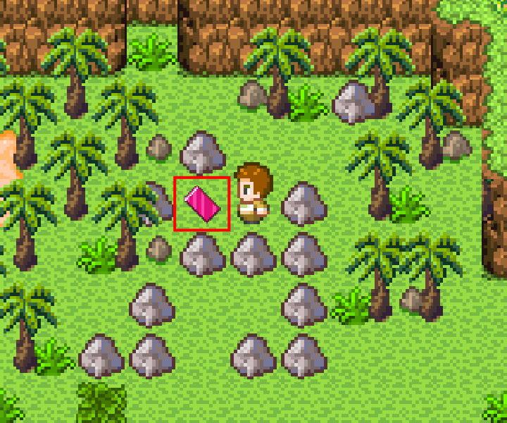 手機遊戲, 無人島大冒險1, 幻象板
