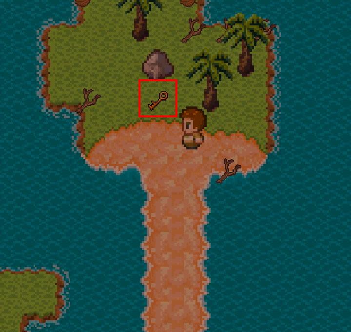 手機遊戲, 無人島大冒險1, 神秘鑄塊