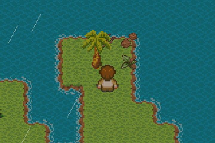 手機遊戲, 無人島大冒險1, 黃金樹木