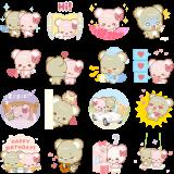 Facebook, 貼圖商店, 熱戀中的甜蜜小熊