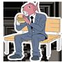 Facebook, 貼圖商店, 上班族魚先生的日常