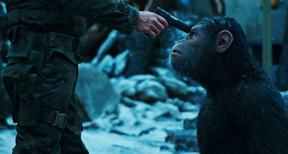 猩球崛起:終極決戰-大猩小猩逃亡記┃影評