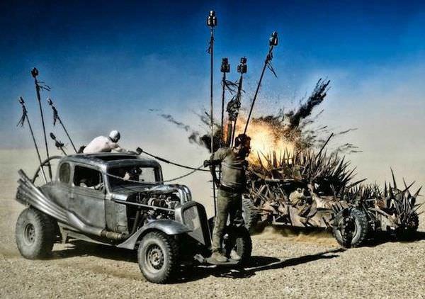 【影評】《瘋狂麥斯:憤怒道》(Mad Max: Fury Road)