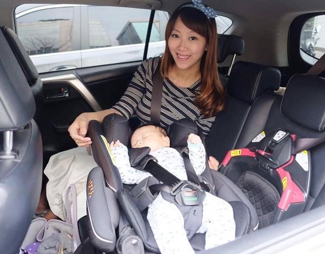 ▌育兒好物 ▌安全、舒適兼具的♥Aprica Fladea grow HIDX 新生兒可平躺嬰幼兒汽車安全座椅 ♥