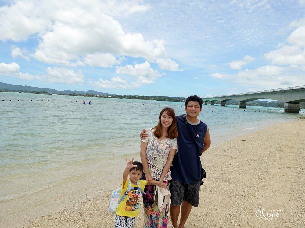 ▌沖繩自由行▌古宇利海灘玩水去、美麗海灘戀人的首選