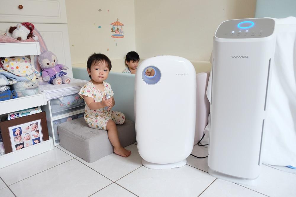 ▌已結團▌家有小孩寵物必備【韓國COWAY空氣清淨機】抗過敏、流感病毒、超靜音