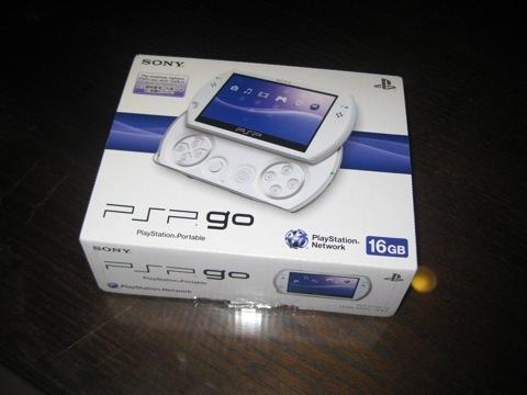 PSP Go的盒子