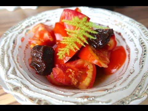 免動火即食梅汁蕃茄 自製梅酒飲料 夏季清涼開胃前菜點心